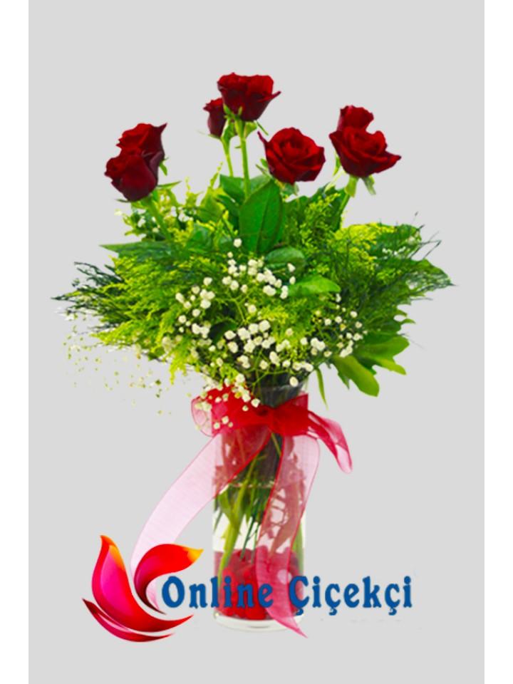 Aşkın Simgesi Kırmızı Güller